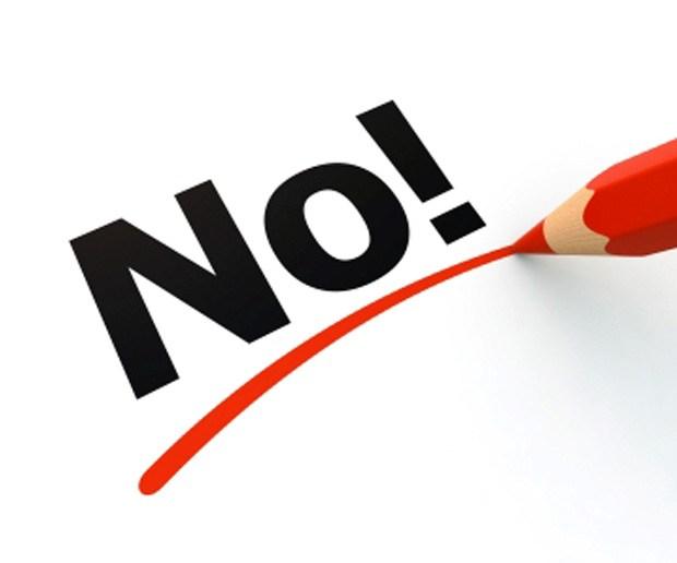 Zakaj tako težko rečemo NE?