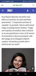 Bojana Ivanović - v medijih - 24ur